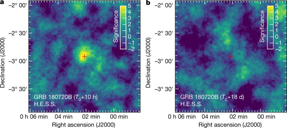 Première détection de l'émission rémanente d'un sursaut gamma en rayons gammas de très haute énergie