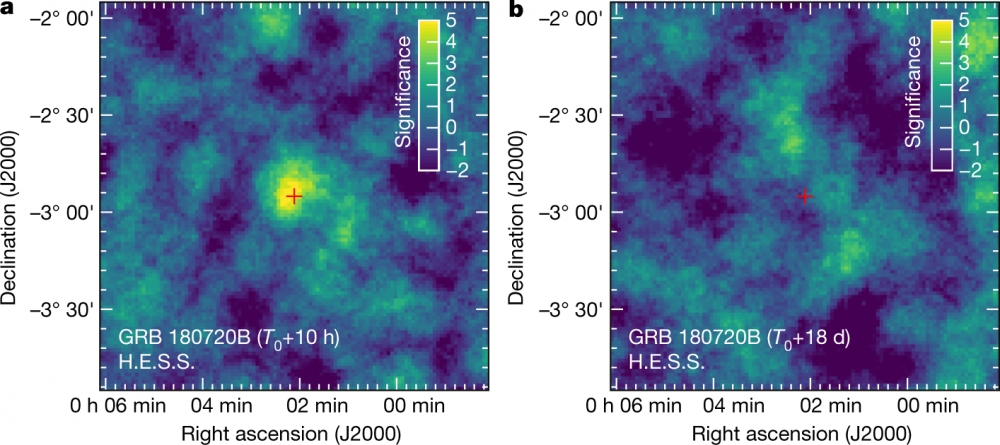 First detection of gamma-ray burst afterglow in very-high-energy gamma light