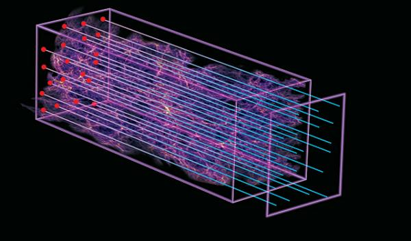 Astrophysicists measure the deceleration of the expansion of the early Universe