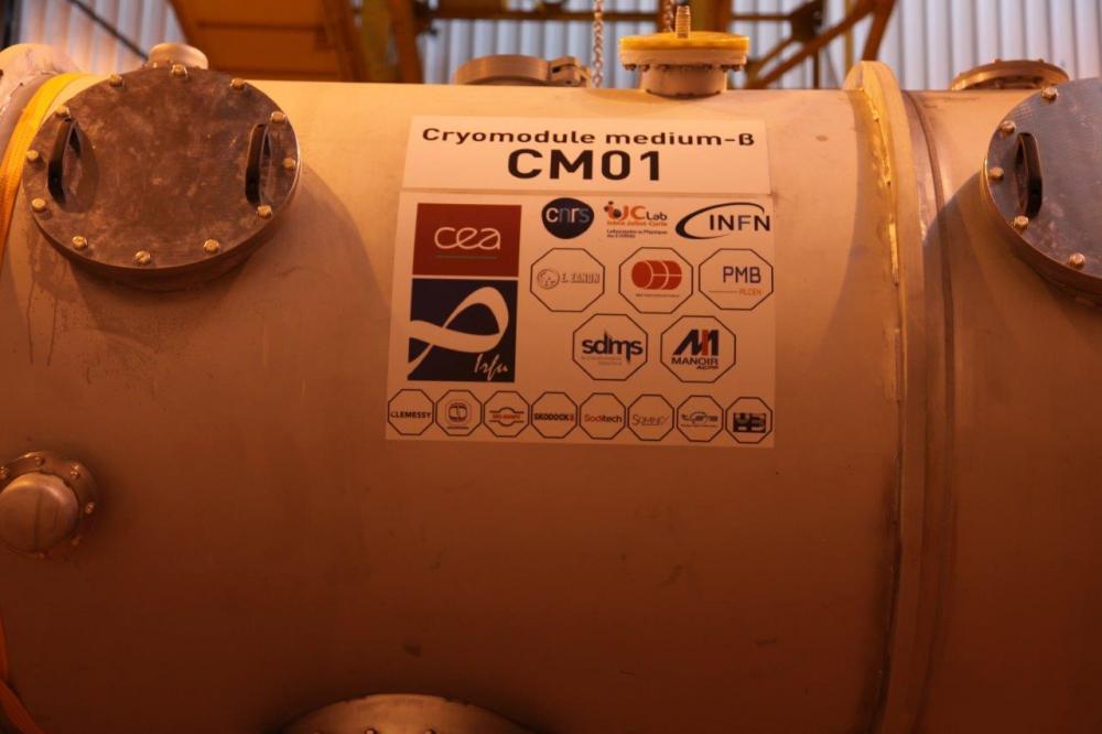 L'Irfu livre à la collaboration ESS le premier cryomodule de série