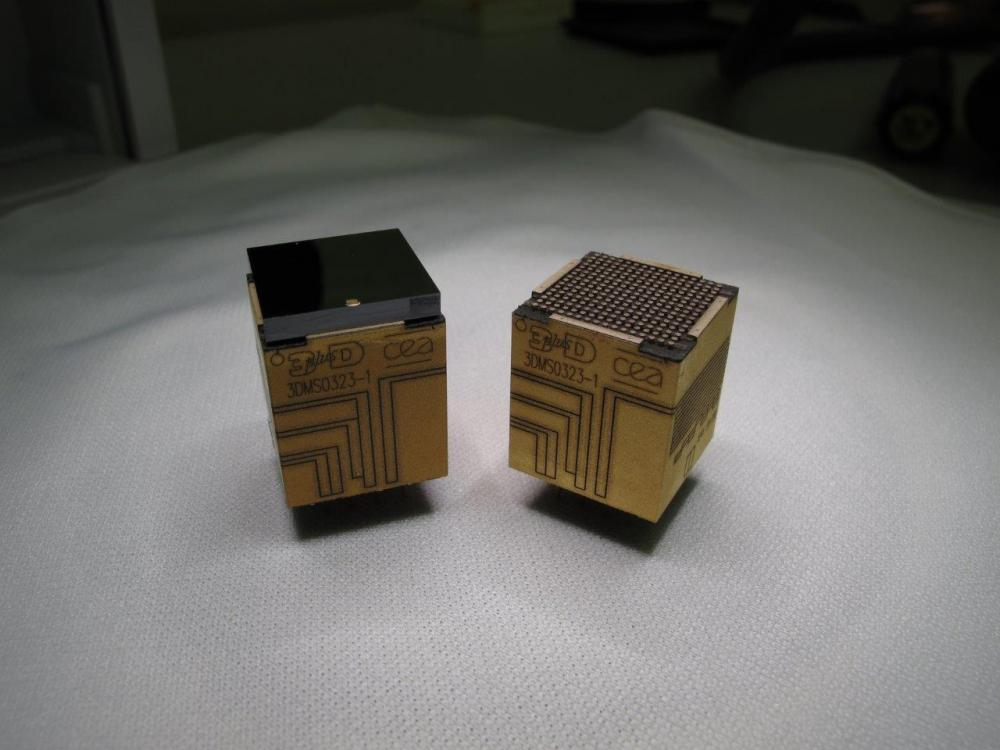 ALB3DO, un laboratoire commun alliant des équipes du CEA-Irfu et de la société française 3D PLUS pour développer des imageurs X et gamma en technologie 3D