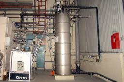 Liquéfacteur-réfrigérateur Hélial 4012 associé à la plateforme SUPRATECH