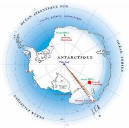Une caméra du Dapnia dans la nouvelle station Concordia en Antarctique