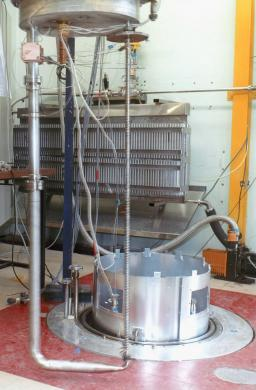 Thermosiphon test bench