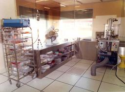 Chemistry laboratory and clean-room (Orme des Merisiers)