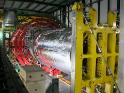 Le plus grand solénoïde supraconducteur au monde est en place