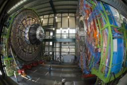 Record mondial pour l�aimant supraconducteur de l�exp�rience CMS