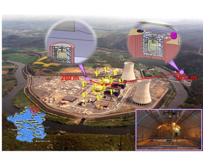 Un laboratoire dans la centrale nucléaire de Chooz pour comprendre la matière