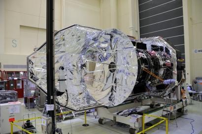Le télescope spatial Herschel en route vers Kourou