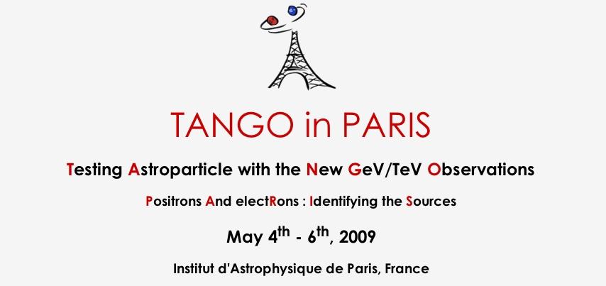 Workshop TANGO in PARIS