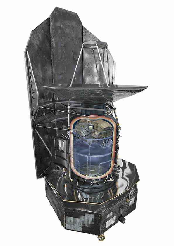 Report du lancement du satellite Herschel