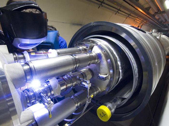 Le redémarrage du LHC en bonne voie
