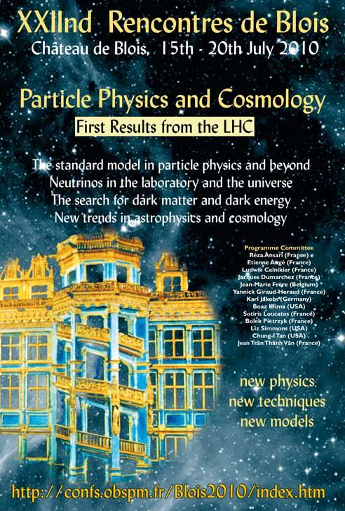 La physique des particules et la cosmologie - Premiers  résultats du LHC